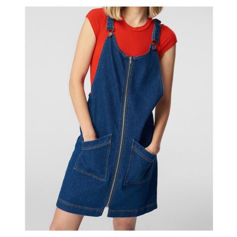 Trendyol dámské denimové šaty na šle