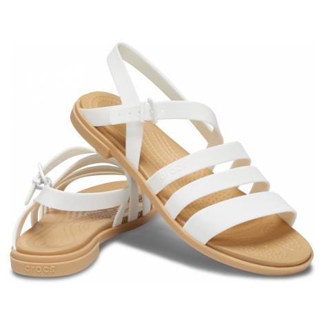 Crocs Crocs Tulum Sandal W Oyster/Tan W9