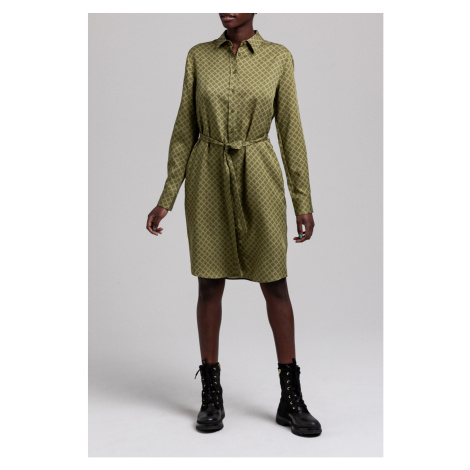 ŠATY GANT D1. ICON G SHIRT DRESS