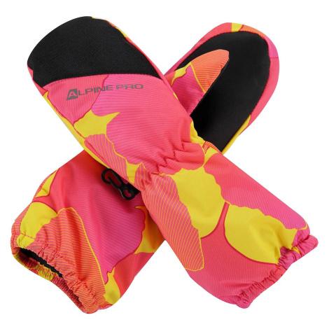 Dětské rukavice Alpine Pro HANGO - růžová