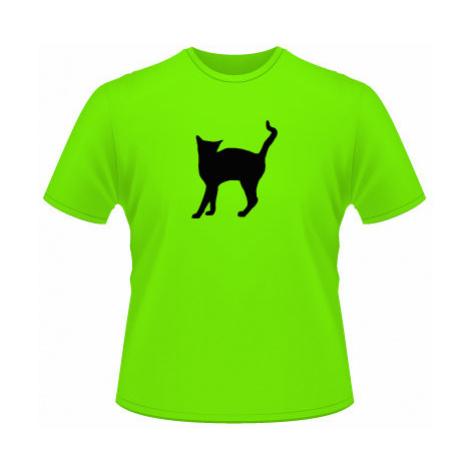 Pánské tričko na tělo Kočka - Líza