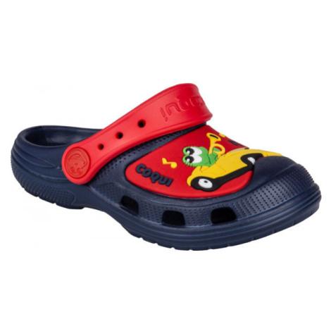 Coqui CROAKY červená - Dětské sandály