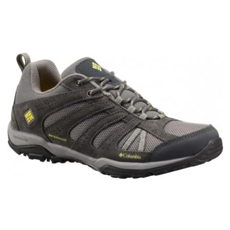 Columbia DAKOTA DRIFTER WP tmavě šedá - Dámská outdoorová obuv