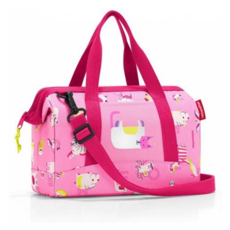 Cestovní taška Reisenthel Allrounder XS kids Abc friends pink
