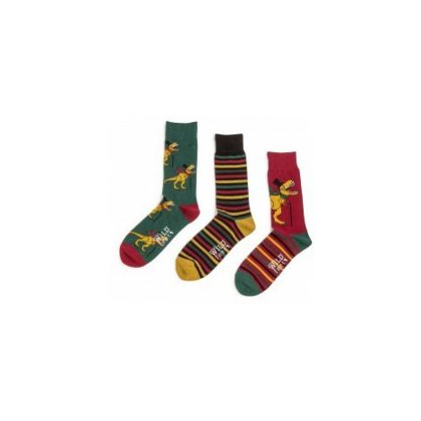 ponožky Wild feet dinosaurs 3 páry