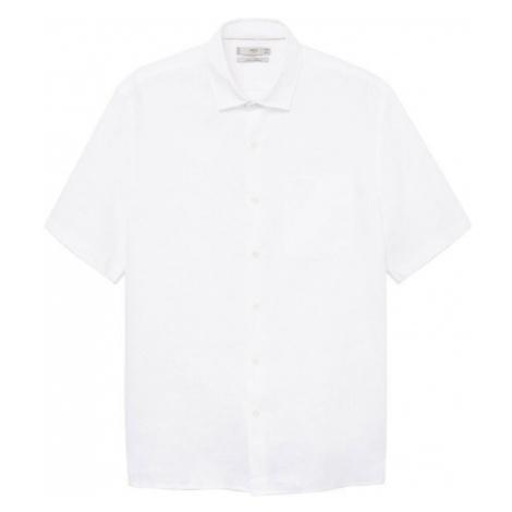 MANGO MAN Košile 'ANTS' bílá