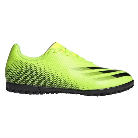 Kopačky adidas Performance X GHOSTED.4 TF Žlutá / Černá
