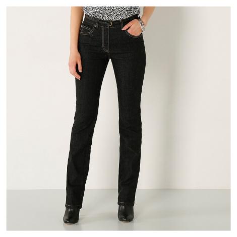 Blancheporte Rovné džíny, vyšší postava černá