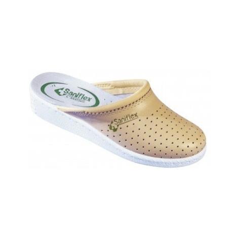 Blancheporte Pohodlné Pantofle, uzavřená špička béžová