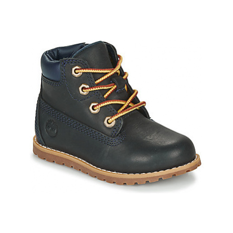 Timberland POKEY PINE 6IN BOOT WITH Modrá
