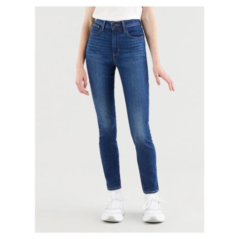 721™ High Rise Skinny Jeans Levi's® Modrá Levi´s