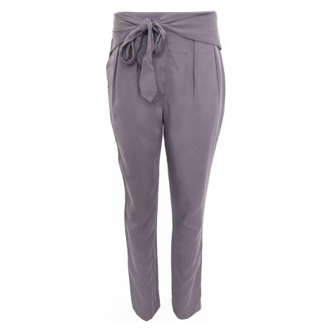 Plátěné kalhoty s páskem Silvian Heach