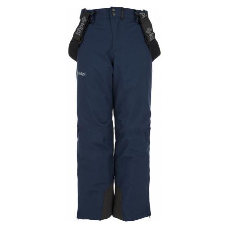 KILPI Chlapecké lyžařské kalhoty METHONE-JB JJ0089KIDBL Tmavě modrá