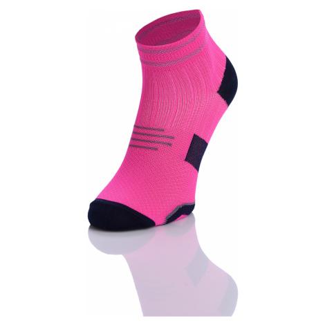 Nessi Běžecké ponožky PRO maraton RMO-5 - Růžová