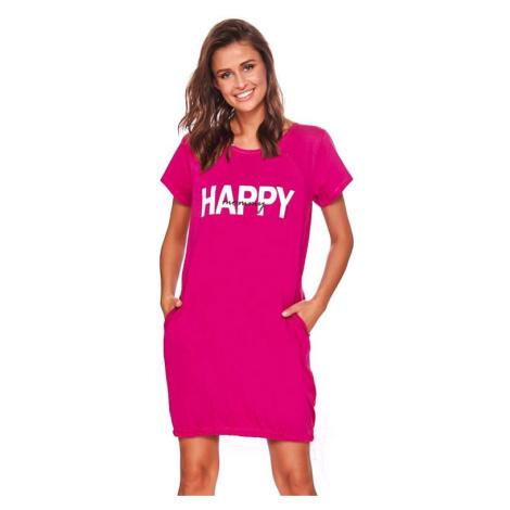 Mateřská košile Happy mommy fuchsie zip