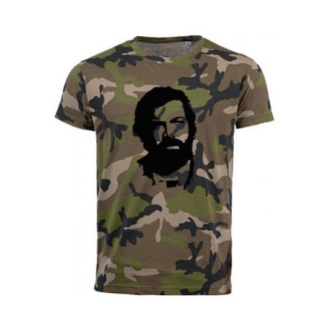 Pánské maskáčové tričko Bud Spencer