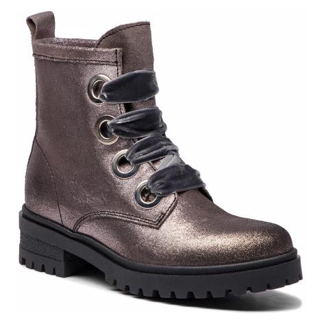 Turistická obuv TOMMY JEANS - Metallic Cleated Lac EN0EN00339 Steel Grey 039 Tommy Hilfiger