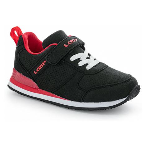 LOAP ACTEON Dětská městská obuv KBJ21198V11G černá/tomato