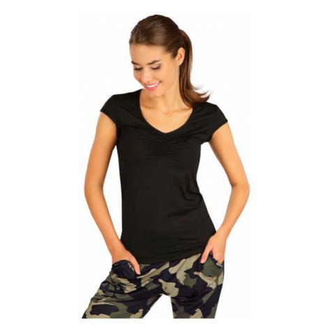 Dámské funkční tričko s krátkým rukávem Litex 5B374   černá