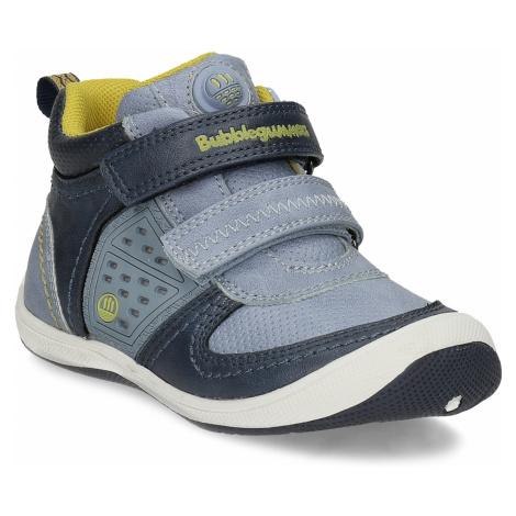 Modrá dětská kotníčková obuv