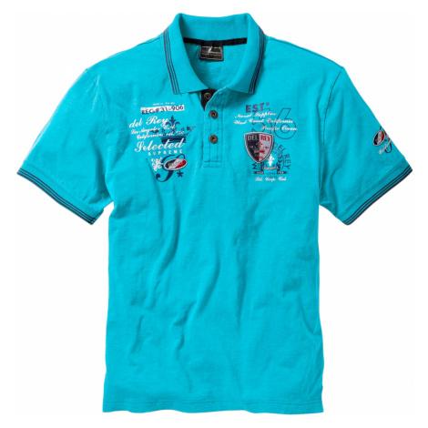 Pólo tričko s ozdobnou aplikací