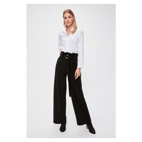 Dámské kalhoty Trendyol Belted