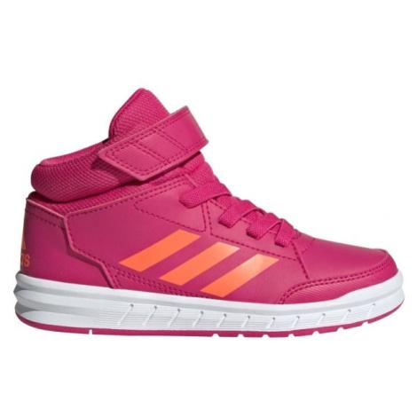 adidas ALTASPORT MID K růžová - Dětská volnočasová obuv