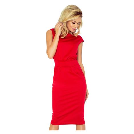 Červené šaty model 4977353 NUMOCO