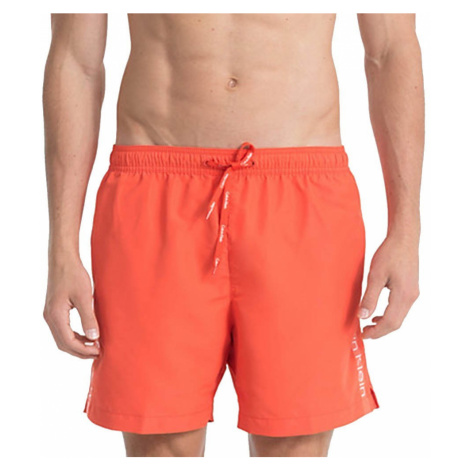Calvin Klein pánské plavky 169 cihlové - Cihlová