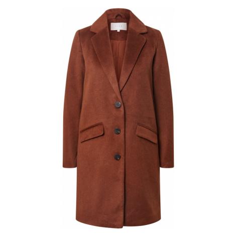 VILA Přechodný kabát rezavě hnědá
