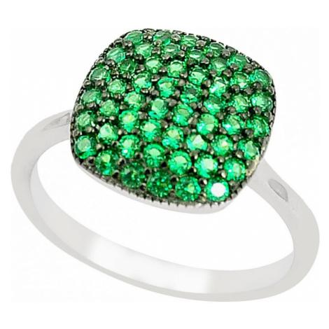 AutorskeSperky.com - Stříbrný prsten se smaragdem - S2802
