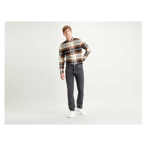 Levi´s® jeans 501 Original Parrish pánské tmavě šedé