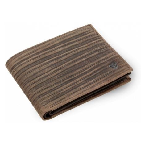 Hnědá pánská kožená peněženka Andre Arwel
