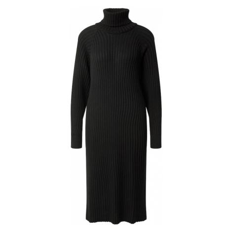 Y.A.S Úpletové šaty 'Mavi' černá