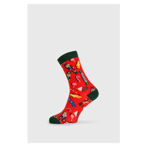 Dámské vánoční ponožky Nut Cracker červená John Frank