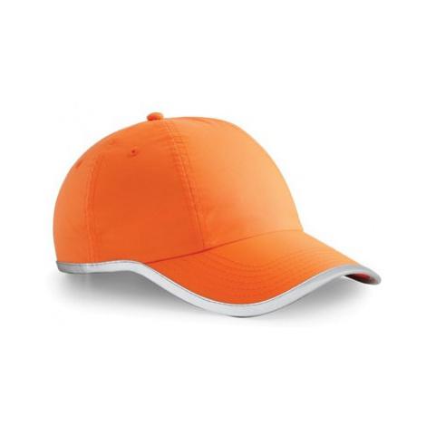 Kšiltovka Enhanced-Viz Cap oranžová