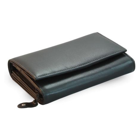 Černá dámská kožená peněženka Chloen Arwel