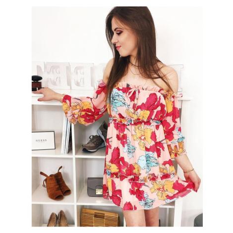 Spanish dress AMORE orange EY0885 DStreet