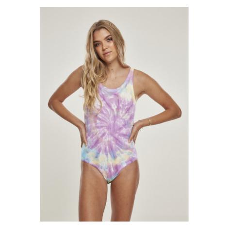 Urban Classics Ladies Tie Dye Body pastel