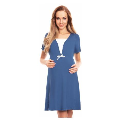 PeeKaBoo Mateřská noční košile Irena modrá