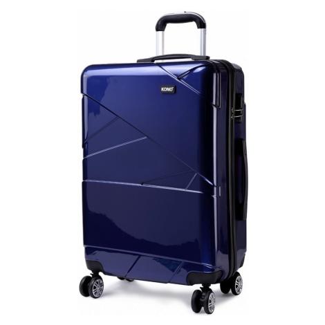Modrý cestovní kvalitní prostorný malý kufr Zion Lulu Bags