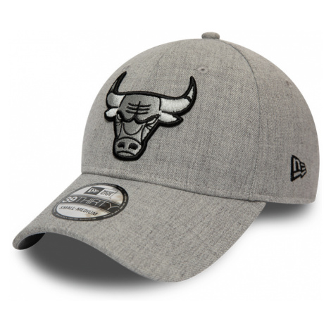 Kšiltovka New Era 39Thirty Heather Essential NBA Chicago Bulls
