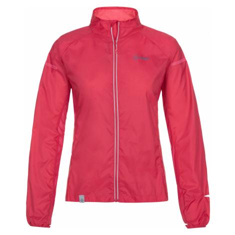 KILPI Dámská běžecká bunda TIRANO-W ML0050KIPNK Růžová