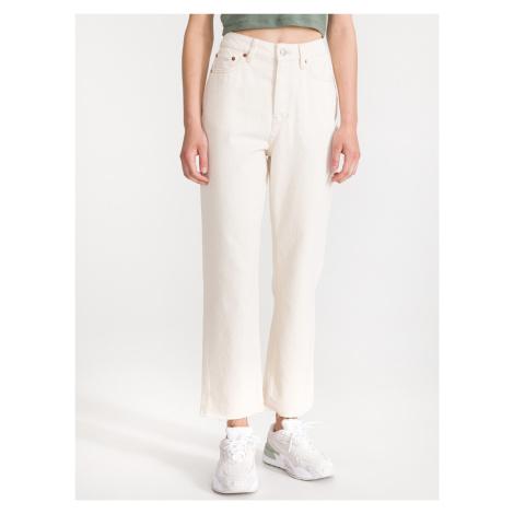 Jeans Tom Tailor Bílá