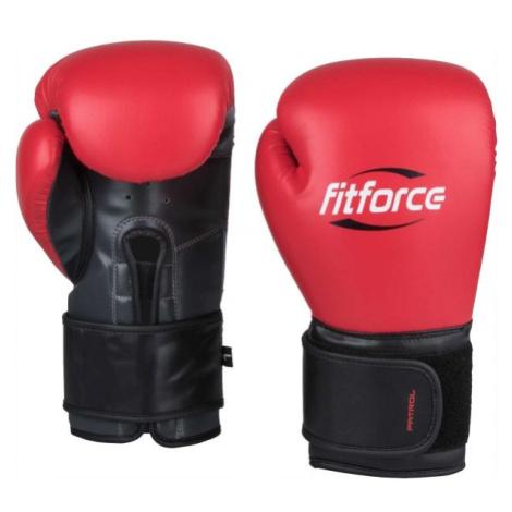 Fitforce PATROL červená - Tréninkové boxerské rukavice