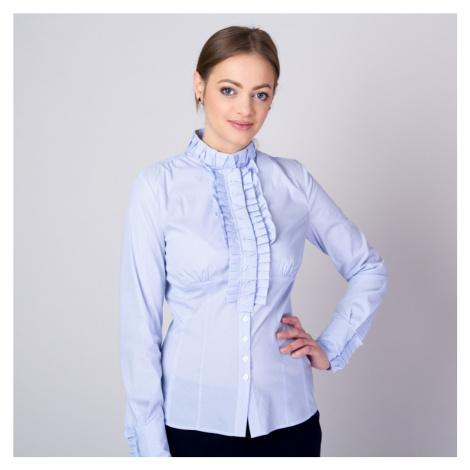 Dámská košile s modro-bílým pruhovaným vzorem 11336 Willsoor
