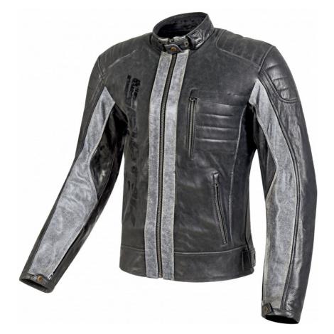 Pánská Kožená Moto Bunda Spark Hector Černá