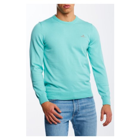 SVETR GANT STRETCH COTTON CONTRAST C-NECK
