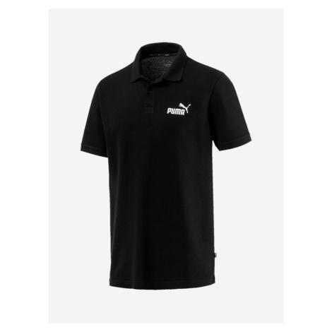 Tričko Puma Essentials Pique Polo Černá