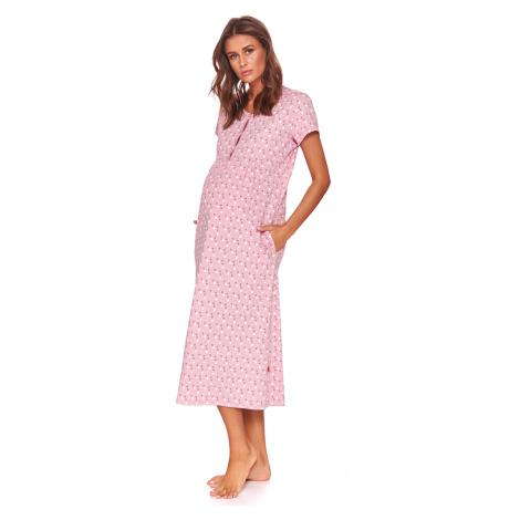 Mateřská kojicí košilka Karen růžová Doctor Nap